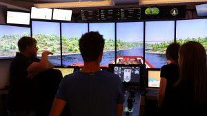 Narrow passage simulator